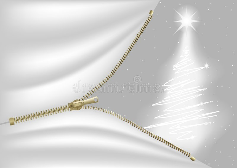 Witte Kerstmis royalty-vrije illustratie