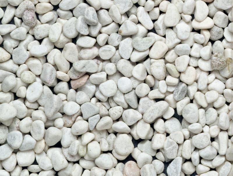 Witte kleine stenen royalty-vrije stock fotografie