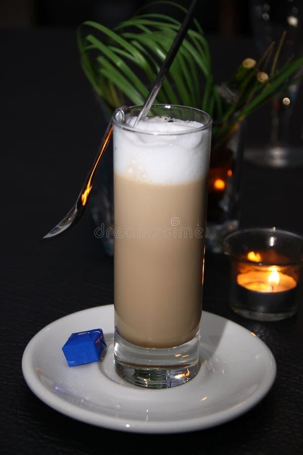Witte koffie stock foto's