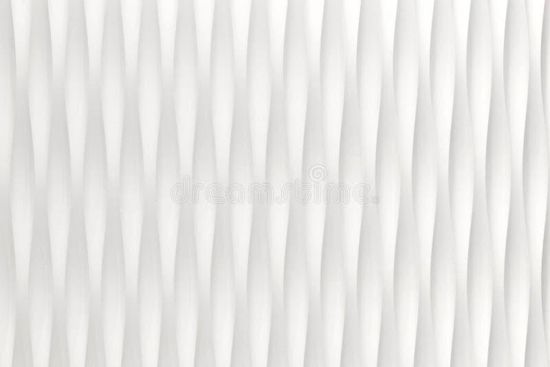 Witte kromme abstracte achtergrond stock fotografie
