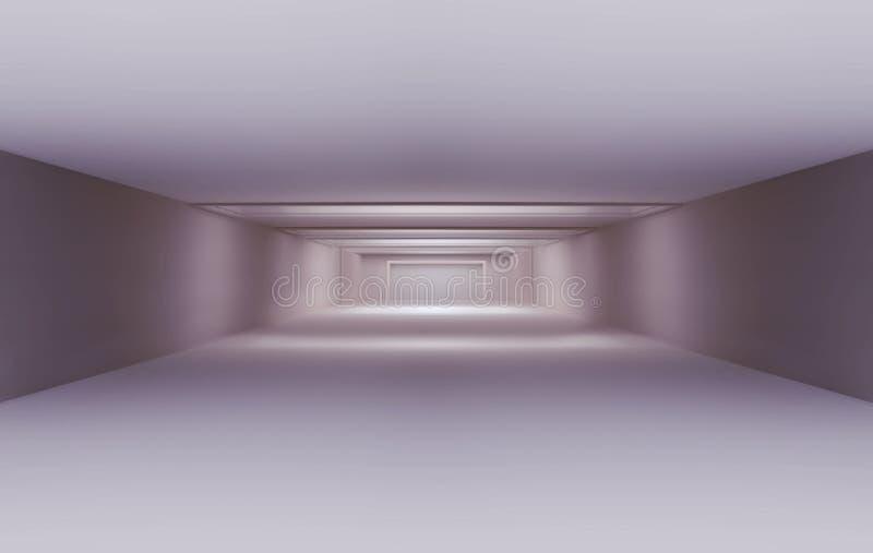 Witte lege ruimte vector illustratie