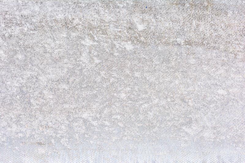 Witte Lege Schone Canvas Achtergrondhulptextuur royalty-vrije stock foto's
