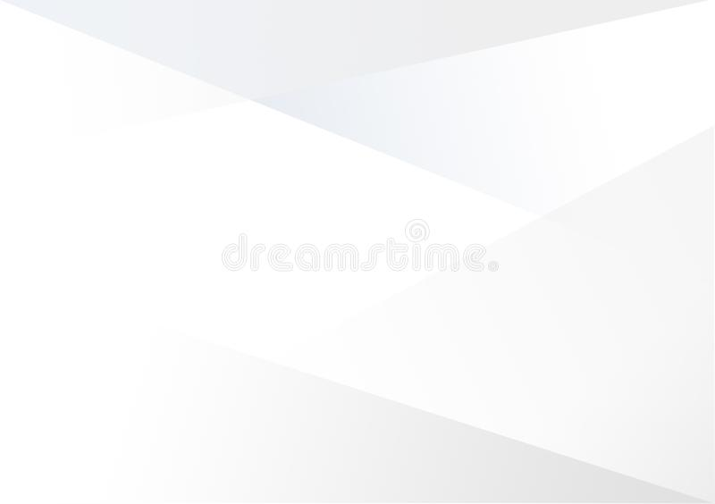 Witte lineaire vorm achtergrondgradiëntachtergrond stock illustratie