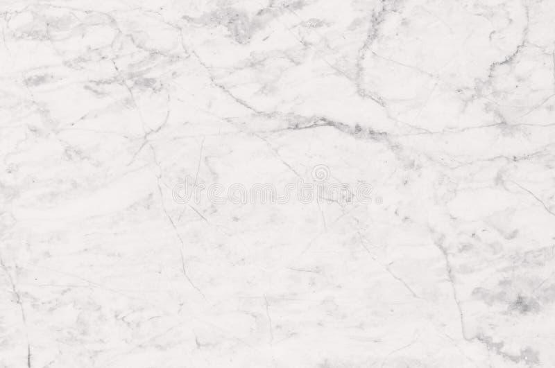 Witte marmer gevormde textuurachtergrond Het marmer van Thailand, vat natuurlijke marmeren zwart-wit (grijs) voor ontwerp samen royalty-vrije stock afbeelding