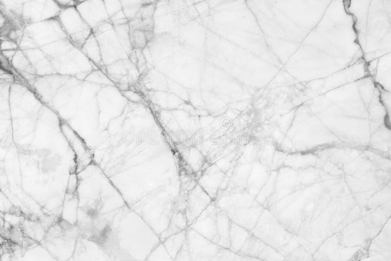 Witte marmer gevormde textuurachtergrond Het marmer van Thailand, vat natuurlijke marmeren zwart-wit (grijs) voor ontwerp samen royalty-vrije stock fotografie