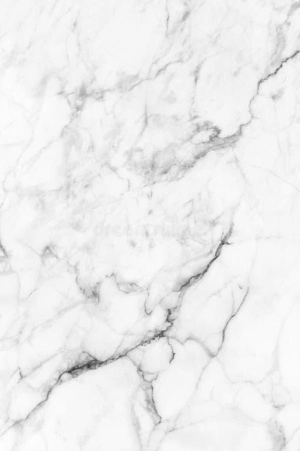 Witte marmer gevormde textuurachtergrond Het marmer van Thailand, vat natuurlijke marmeren zwart-wit (grijs) voor ontwerp samen royalty-vrije stock afbeeldingen