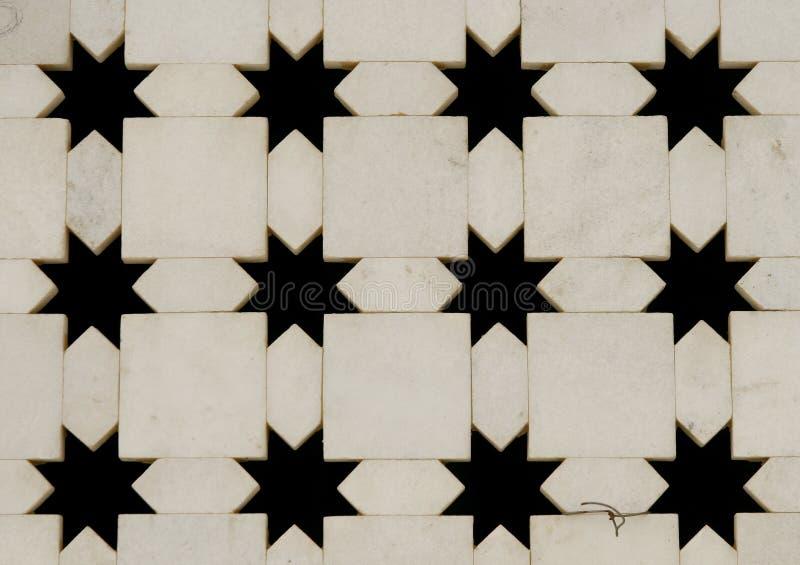 Witte marmeren muur met de knipsels van de stervorm india stock afbeelding afbeelding 11198501 - Binnenkleuren met witte muur ...