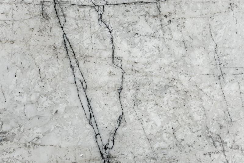 Witte marmeren textuur, gedetailleerde structuur van gevormd marmer in natuurlijk royalty-vrije stock afbeelding