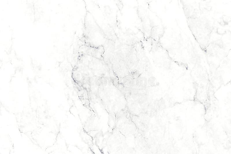Witte marmeren textuur, Patroon voor het behang luxueuze achtergrond van de huidtegel stock foto's