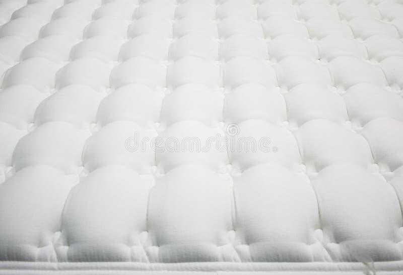 Witte matras stock fotografie