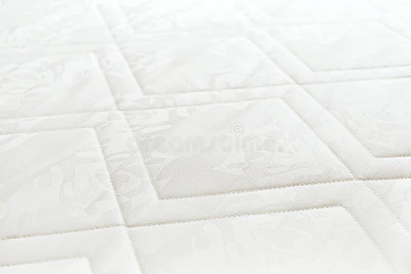 Witte matrasoppervlakte royalty-vrije stock foto
