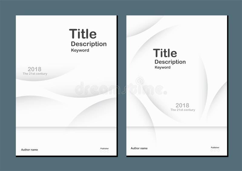 Witte moderne abstracte achtergrond met tekstruimte voor Webbanner, vector illustratie