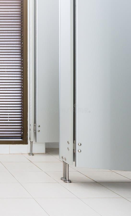 Witte moderne deur royalty-vrije stock foto's