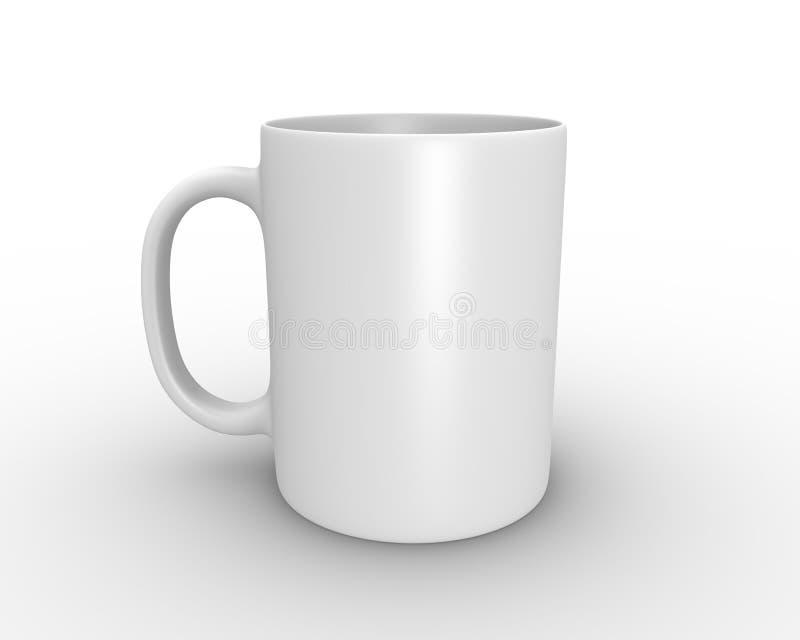 Witte mok vector illustratie