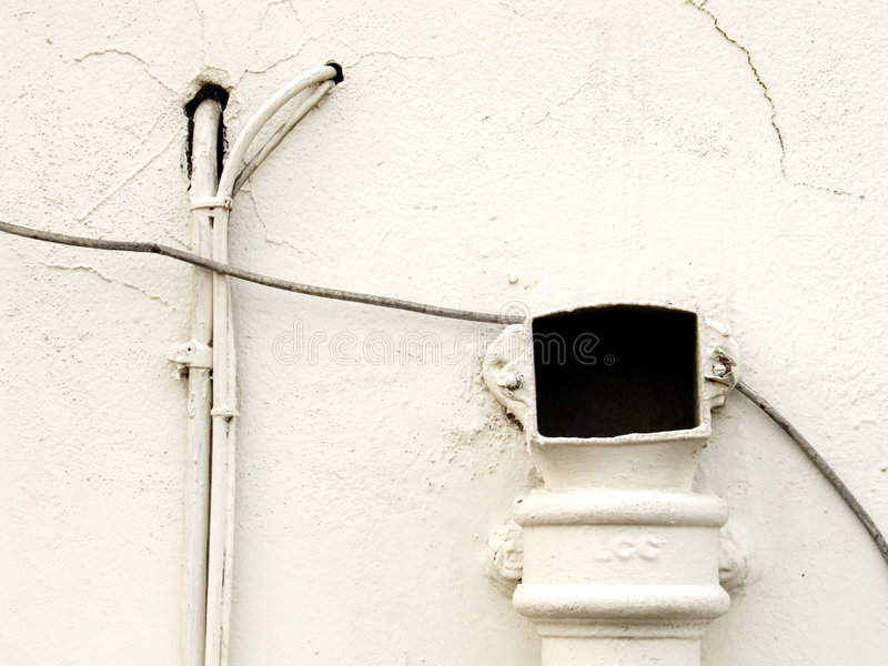 Witte muur stock fotografie