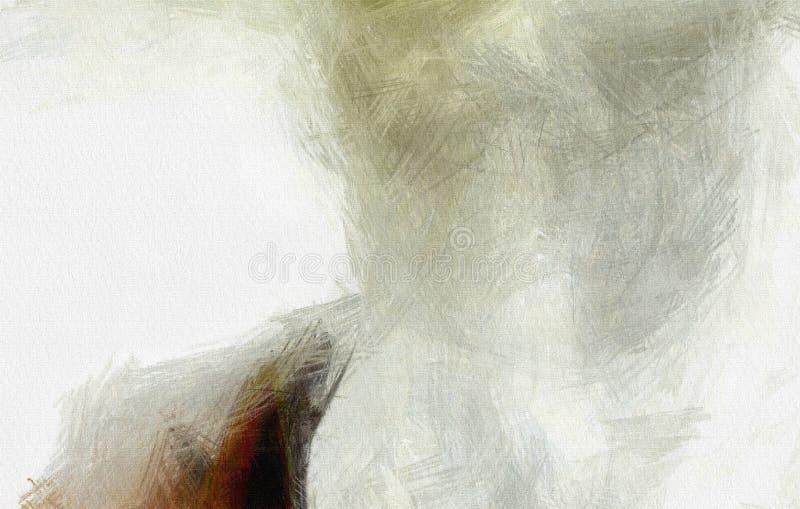 Witte muur vector illustratie