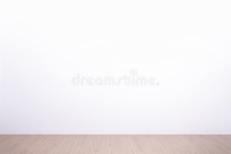 Witte muur en vloer royalty-vrije stock afbeelding