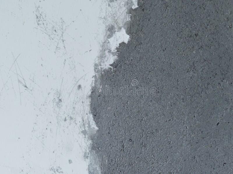 Witte muur met rustiek cementpleister royalty-vrije stock afbeeldingen