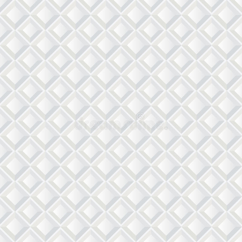 Download Witte Naadloze Geometrische Textuur. De Achtergrond Van De Tegel Vector Illustratie - Illustratie bestaande uit illusie, grijs: 29505628