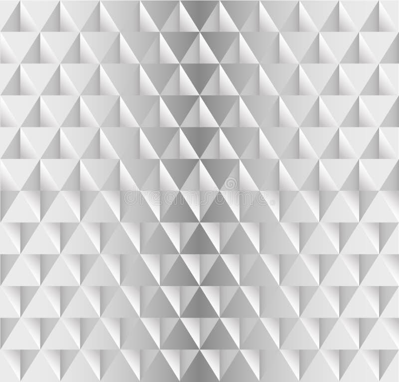 Witte naadloze textuur, vector illustratie