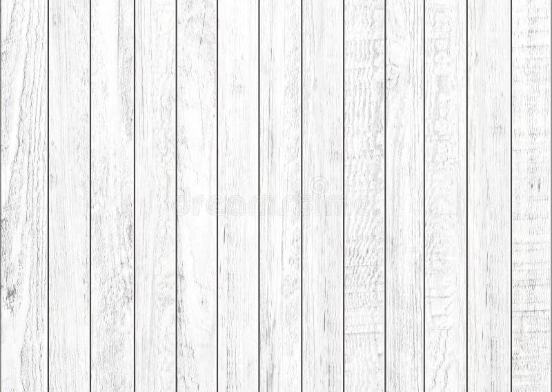 Witte natuurlijke houten muurachtergrond Houten patroon en textuurachtergrond stock foto's