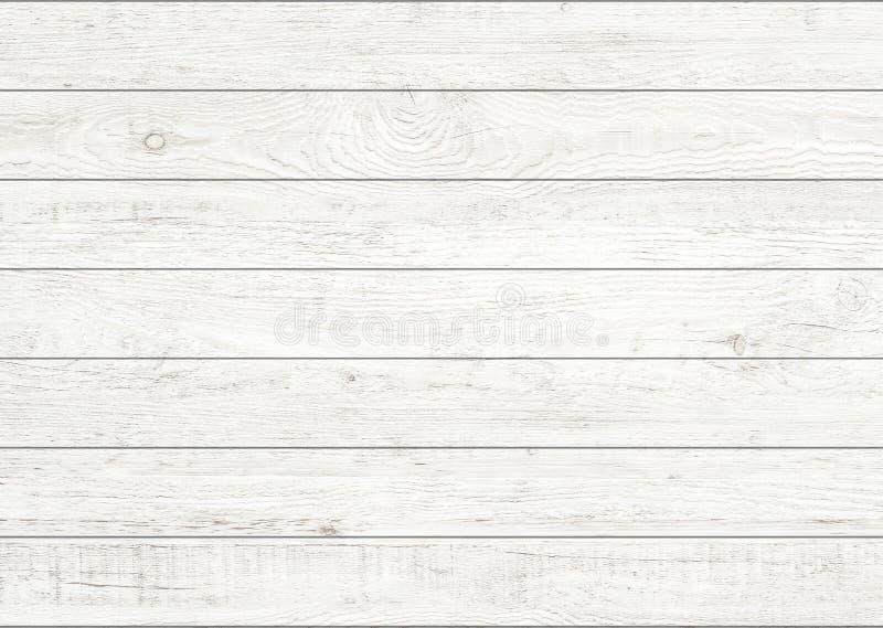 Witte natuurlijke houten muurachtergrond Houten patroon en textuurachtergrond royalty-vrije stock foto's