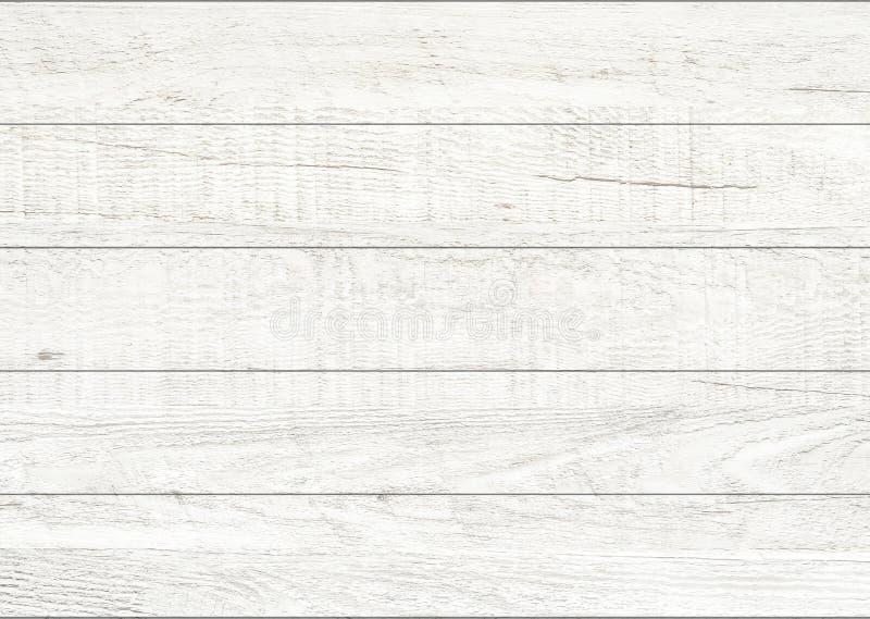 Witte natuurlijke houten muurachtergrond Houten patroon en textuurachtergrond stock fotografie