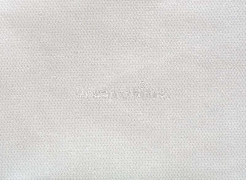 Witte niet-geweven stoffenachtergrond royalty-vrije stock afbeeldingen