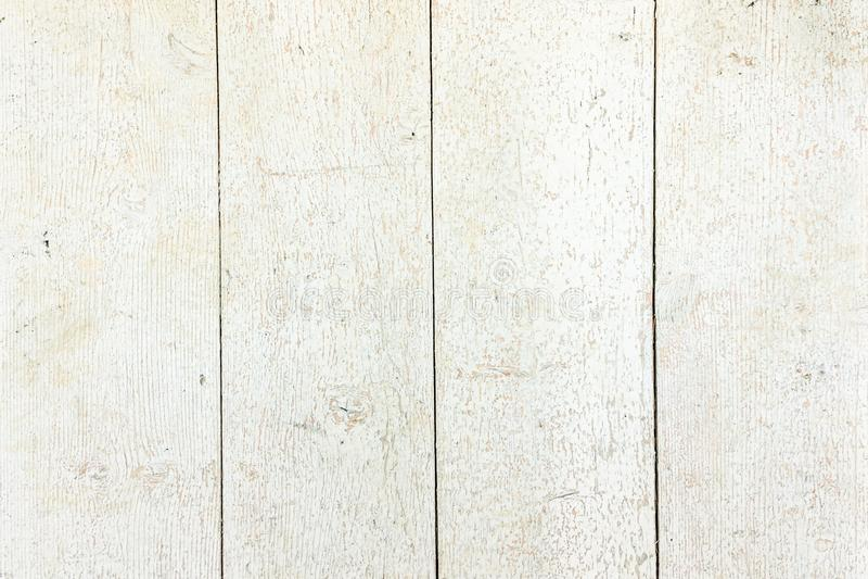 Witte Organische Houten Textuur Lichte houten achtergrond Oud Gewassen Hout stock fotografie