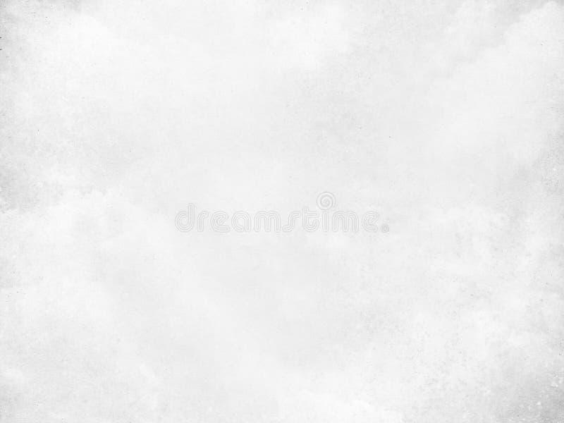 Witte oude document grunge textuur voor achtergrond stock afbeelding