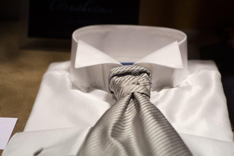 Witte overhemden stock foto's