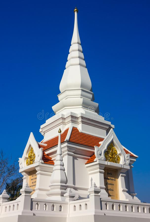 Witte Pagode stock afbeelding