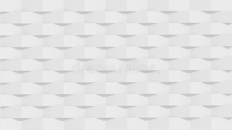 Witte panelen royalty-vrije illustratie