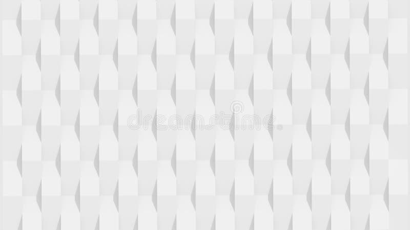 Witte panelen stock illustratie