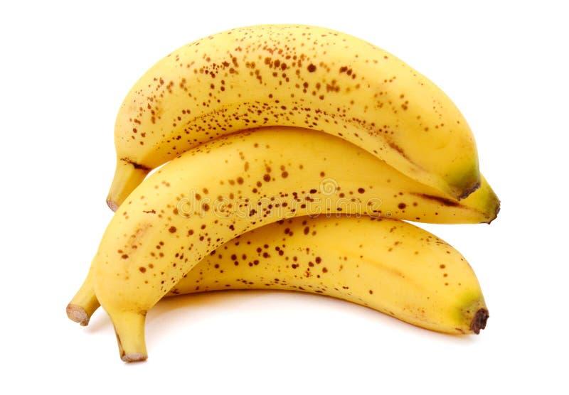 Witte pekel van Ripe Banana royalty-vrije stock afbeeldingen