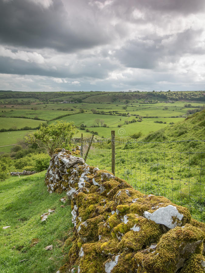 Witte Piek, Derbyshire stock foto