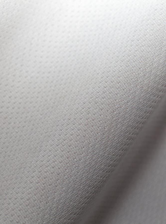 Witte Polyester stock fotografie