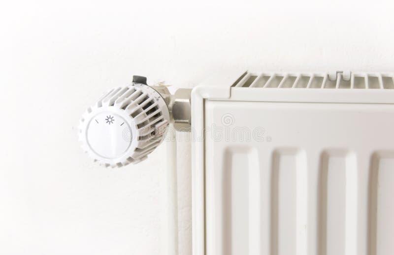Witte radiator royalty-vrije stock fotografie