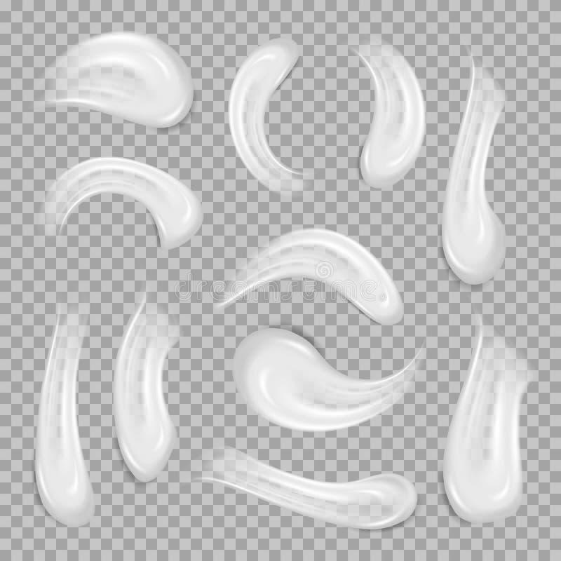 Witte roomelementen Element voor adverterend en promotiebericht Vectorillustratie voor uw ontwerp en zaken vector illustratie