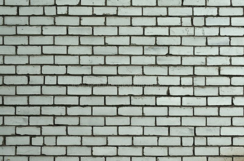 Witte Rustieke Textuur Retro Vergoelijkte Oude Bakstenen muuroppervlakte Uitstekende structuur Grungy Sjofel Ongelijk Geschilderd stock foto