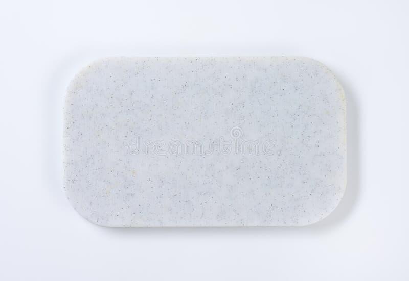 Witte scherpe raad stock afbeelding