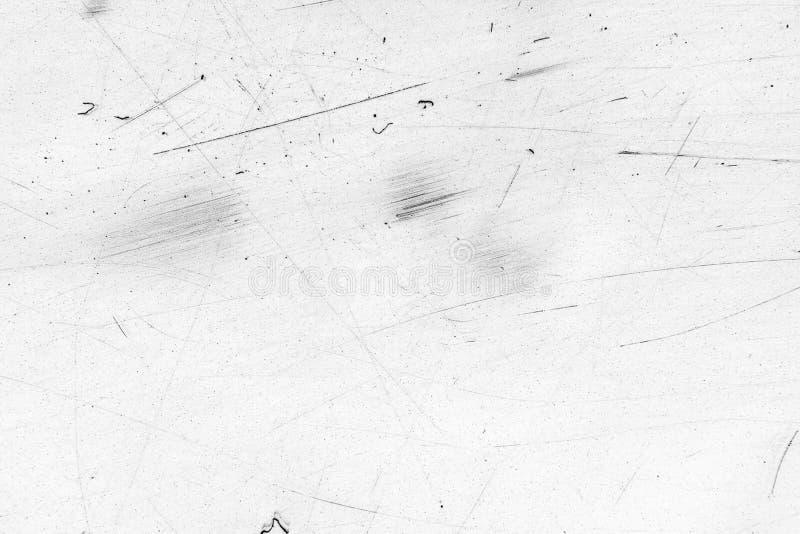 Witte sjofele muur, grunge textuur, achtergrond stock foto
