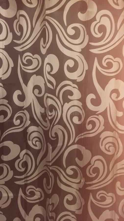 Witte Spiralen met zwarte achtergrond stock afbeelding