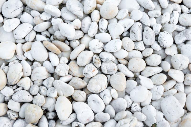 Witte steen stock afbeelding
