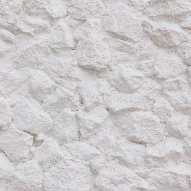 Witte steenmuur stock foto