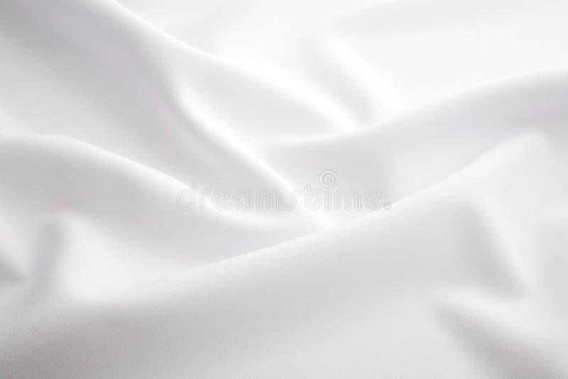 Witte stof royalty-vrije stock fotografie