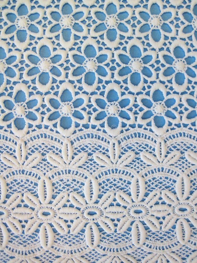 Witte stoffentexturen royalty-vrije stock afbeelding
