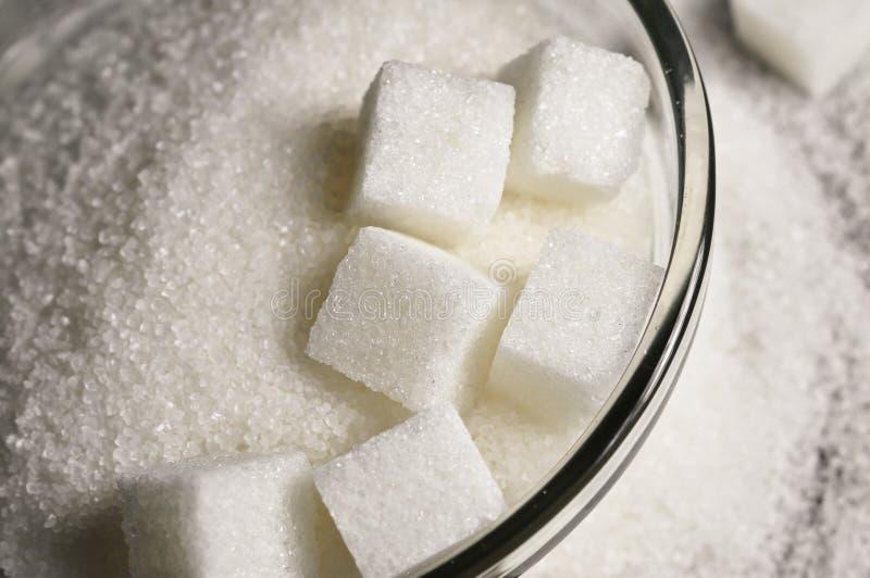 Witte suiker stock fotografie