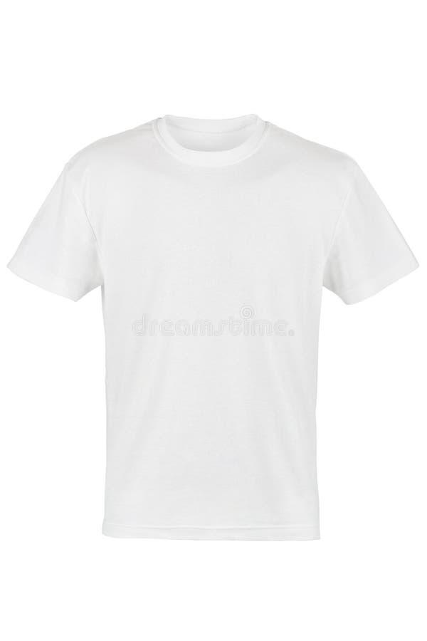 Witte T-shirt royalty-vrije stock afbeeldingen