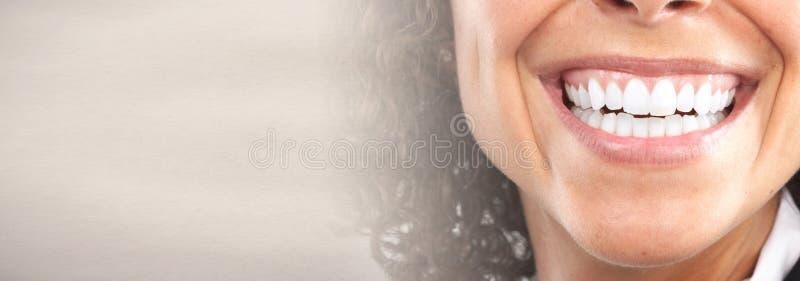 Witte tanden stock foto's